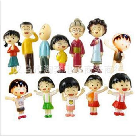Chibi Maruko Chan Set D Figure Vintage Miniatur buy wholesale anime chibi dolls from china anime chibi dolls wholesalers aliexpress