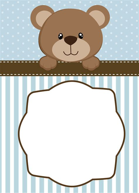 Baby Shower Bears by Neutral Teddy Baby Shower Invitations Templates E