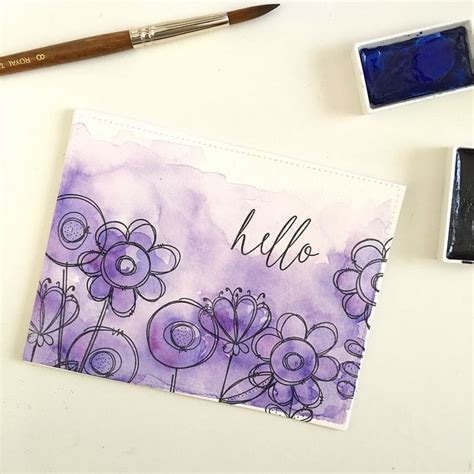 watercolour cards diy 25 best ideas about watercolor cards on easy