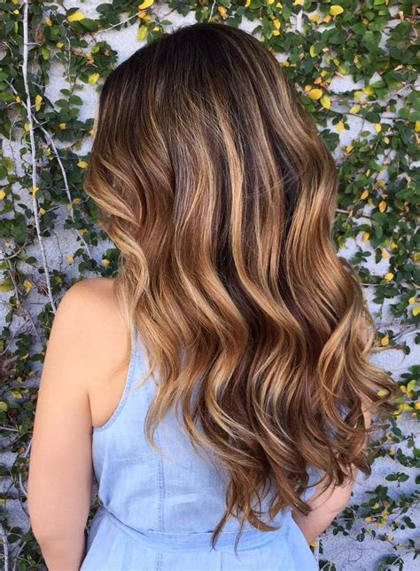 honey brown haie carmel highlights short hair 60 balayage hair color ideas with blonde brown caramel