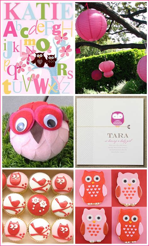 owl themed baby shower owl decorations for baby shower best baby decoration