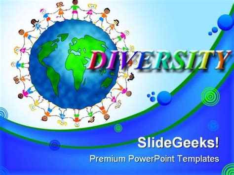 Diversity Powerpoint Templates Free by Gaga Powerpoint Templates Children