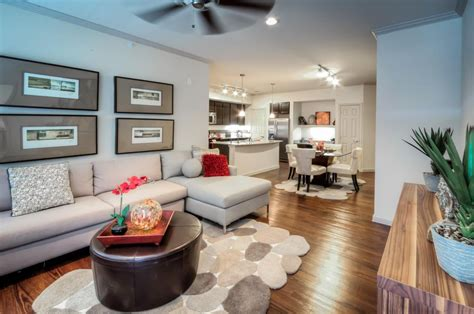 contemporary great room  carpet hardwood floors