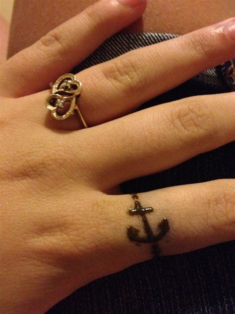 anchor henna tattoo anchor ring henna tattoos
