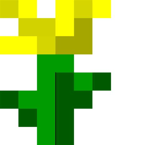 minecraft printable flowers papercraft life size flower