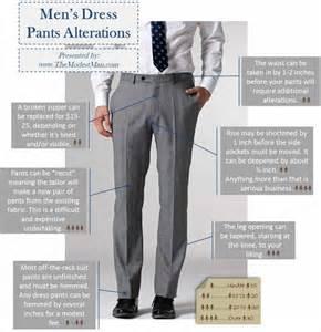 alterations 101 men s dress pants trousers and slacks