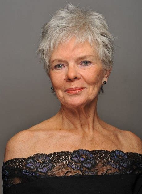 pictures of short hairstyles for over 60 with thin fine hair short haircuts over 60