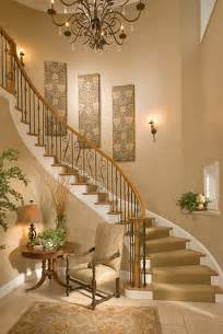 Hanging Foyer Light Bethesda Foyer Traditional Staircase Dc Metro By