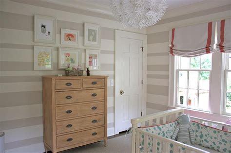striped nursery walls transitional nursery sherwin williams realist beige