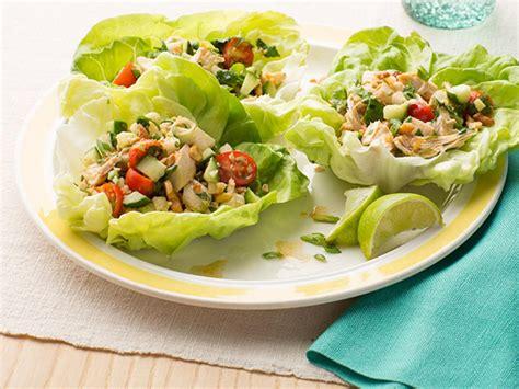 healthy salad recipes 5 healthy chicken salad recipes food network healthy