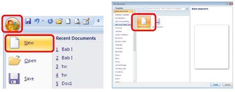 membuat dokumen html membuat dokumen baru dalam microsoft excel 2007 tips dan