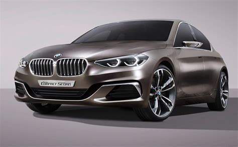new compact bmw 1 series sedan previewed with new compact concept