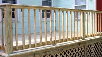 Porch Handrails For Steps Building Handrails For A Wooden Deck Today S Homeowner