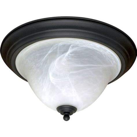Ceiling Light Base Nuvo Lighting 60383 2 Light Medium Base 15 25 Quot Castillo Flush Mount Textured Flat