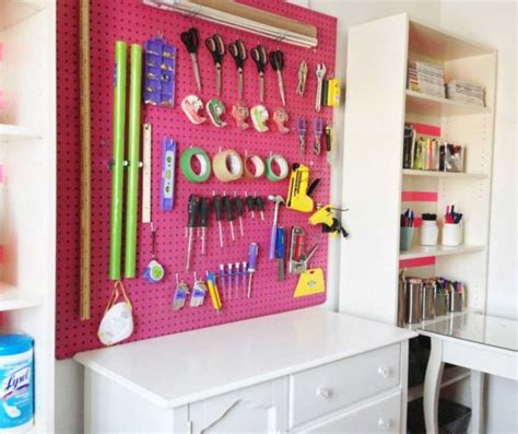 pegboard for craft room the ultimate guide for organizing your home room by room