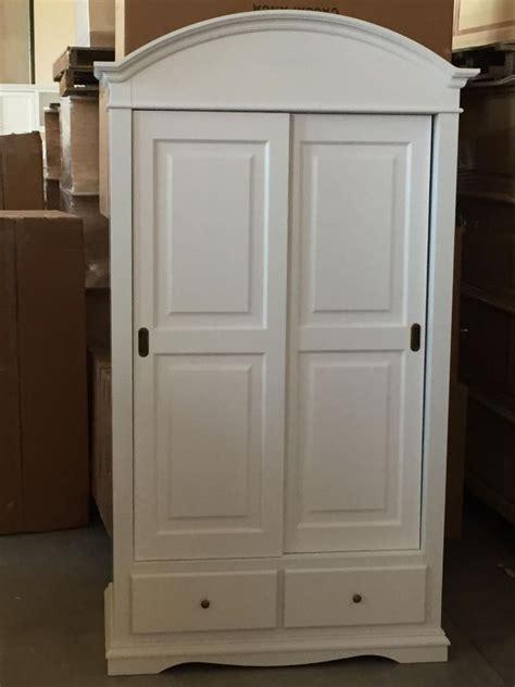 armadi bellissimi armadio in legno 2 ante scorrevoli laccato bianco shabby