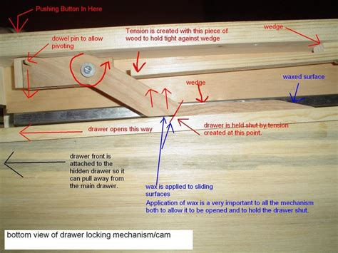 Make Drawer Mechanism by Armoire With Drawer Mechanism By Rsmike