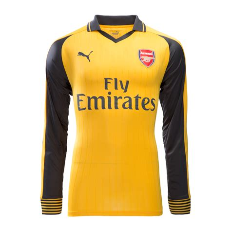 Kitchen Collectables Store arsenal away jersey 2016 17 long sleeves arsenal