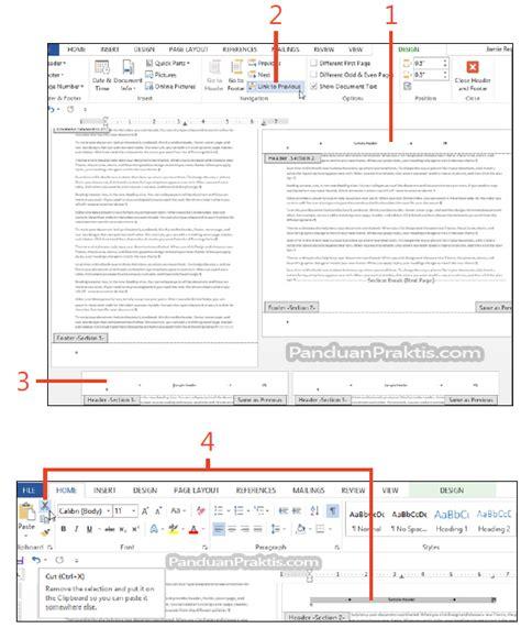 cara membuat halaman pada word landscape cara mengubah orientasi halaman portrait atau landscape