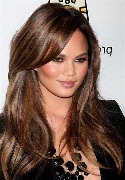 Hairstyles For Brown Hair by 21 Hairstyles For Brown Hair