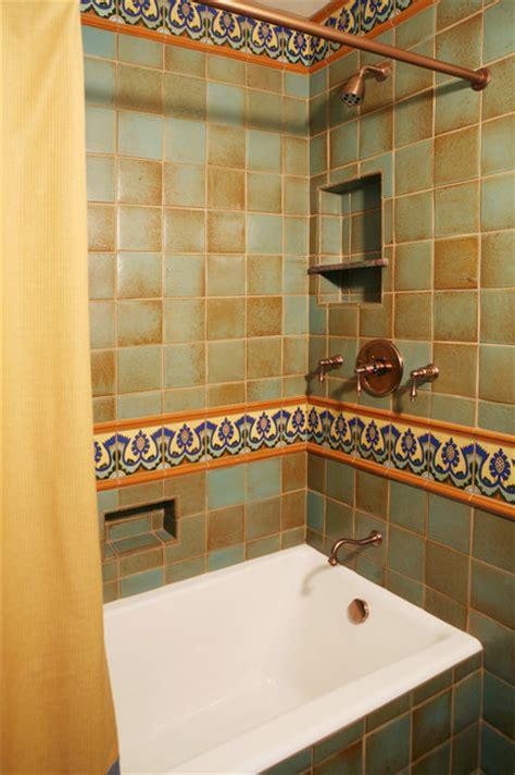 spanish bathroom tile spanish revival restoration mediterranean bathroom