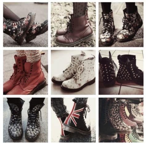 Docmart Shoes Flower shoes drmartens dr marten boots union flowers