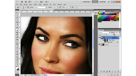 photoshop cs3 smooth skin tutorial how to make a smooth and soft face in two minutes