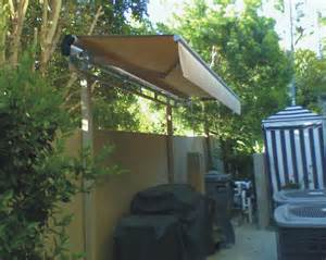 slide on wire n retractable awnings