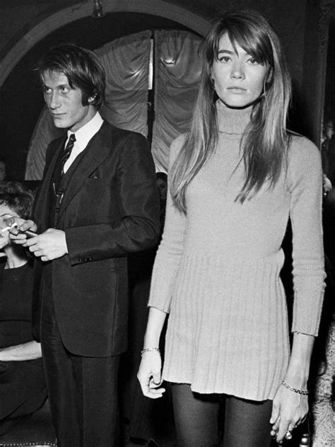 Vintage Style Inspiration Springsummer 2007 Francoise Hardy by Jacques Dutronc Fran 231 Oise Hardy Like And Repin Thx