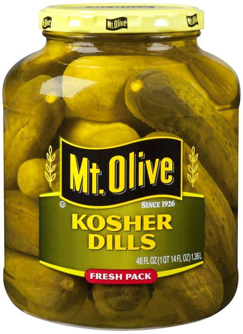 kosher pickles kosher dills mt olive pickles