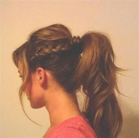 casual hairstyles ponytail 15 cute everyday hairstyles crazyforus