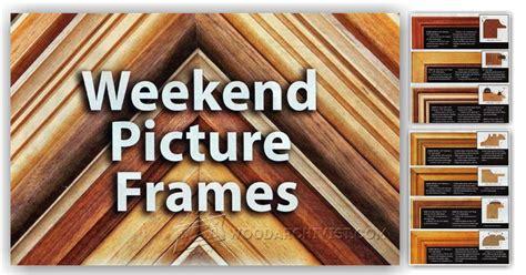router  picture frame plans woodarchivist