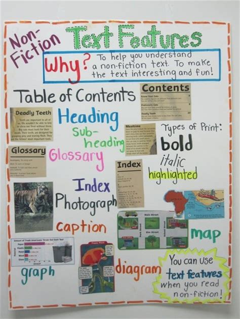 prose the of nonfiction books non fiction text features mrs warner s 4th grade classroom