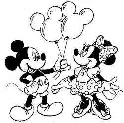 Mickey Mouse Minnie Mouse Coloring Pages mickey mouse and minnie mouse disney coloring
