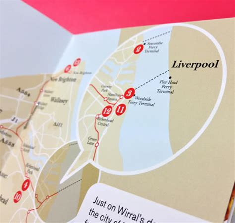 leaflet design wirral wirral attractions destination branding bolland and lowe