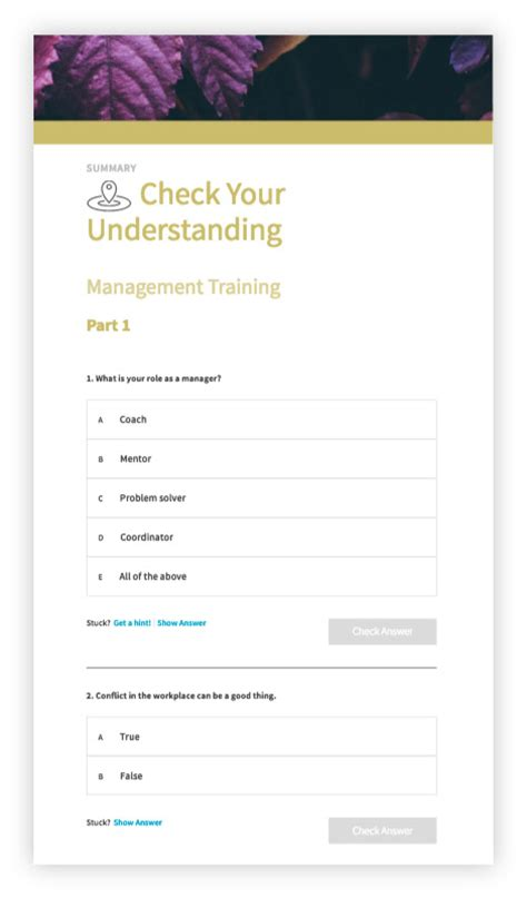 workbook template guide template for self paced learning inkling