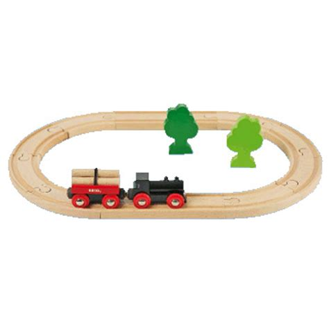 brio wooden railway system table little forest starter set from brio wwsm