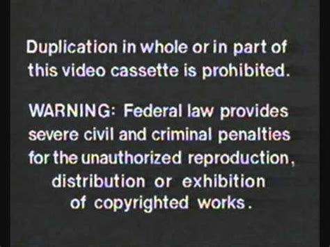 random house home video random house home video fbi warning slideshow youtube