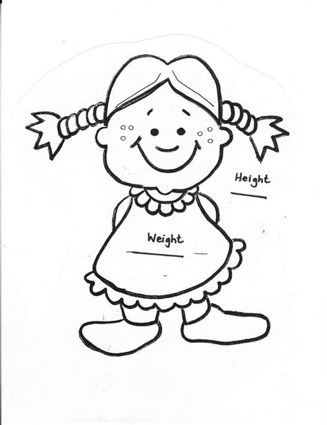 preschool coloring pages all about me preschool all about me book girl books girls and