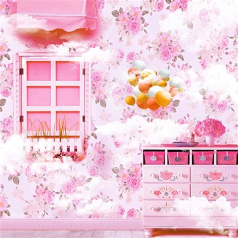 Background Foto Girly Magic Studio baby pink wood window baby dress table