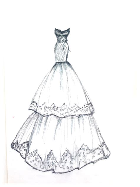 Drawing Dresses by Free Coloring Pages Of How To Draw Fashion
