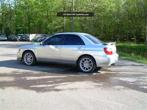 2002 Subaru Impreza Wrx Sedan 4 Door 2 0l
