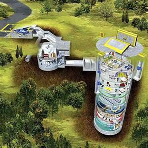 Bomb Shelter Found In Backyard Nuclear Family Housing Life In A Real Missile Silo Home