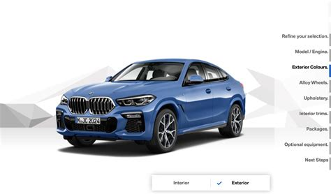 When Will 2020 Bmw X6 Be Available by 2020 Bmw X6 Configurator Available In De And Uk