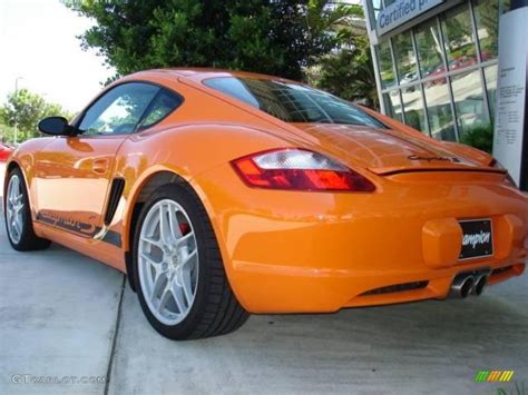 porsche cayman orange 2008 orange porsche cayman s sport 15455030 photo 4