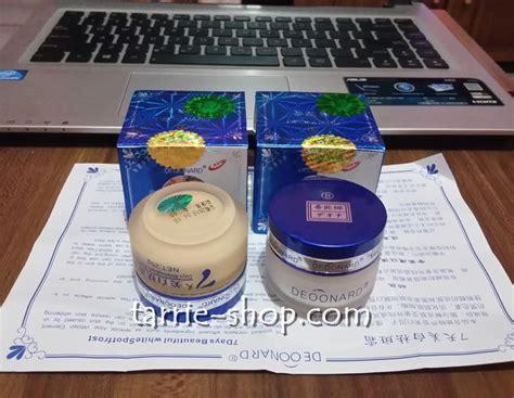 Deoonard 7 Day 1 Set Malam Siang Deoonard Biru deoonard gold silver toko kosmetik deoonard deoonard 7 days harga satuan