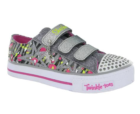 velcro light up shoes skechers twinkle toes light up velcro