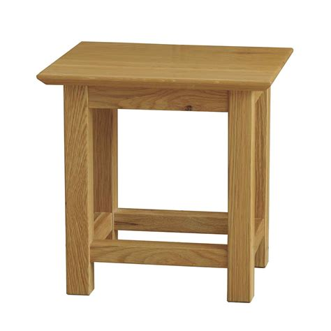 side table sherwood oak small side table realwoods