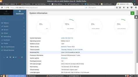Youtuber Dan Username 009 install dan konfigurasi webmin pada debian 8 6 server