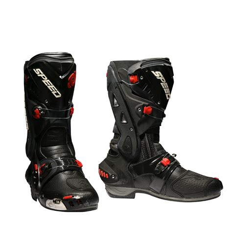 moto shoes motorcycle boots racing speed cycling safety shoes pro